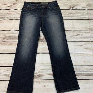 DKNY 10R Soho Jeans Flare Bottoms